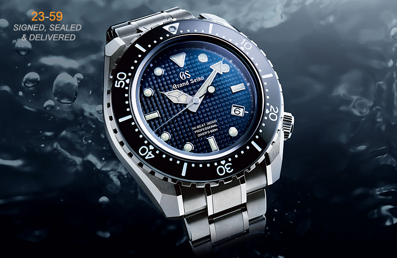 best website 8e772 f8d2f BaselWorld 2017 – Grand Seiko Hi-Beat Professional Divers ...